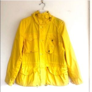 Polo RL Drawcord Hooded Pocket Button Rain Jacket